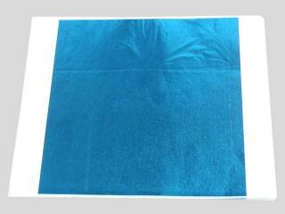 Поталь цветная синяя в листах
